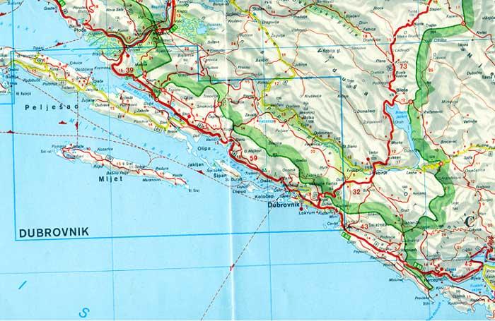 Explorations orchidophiles sur la côte dalmate méridionale